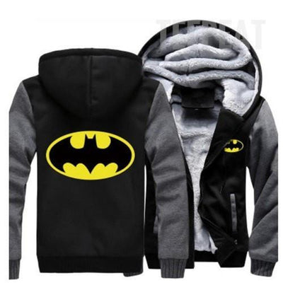 TEEPEAT Jacket 2 / S Batman Fleece Hoodie