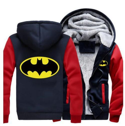 TEEPEAT Jacket 3 / S Batman Fleece Hoodie