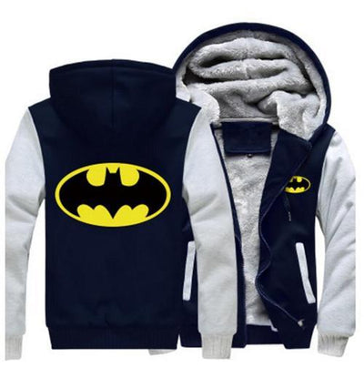 TEEPEAT Jacket 4 / S Batman Fleece Hoodie