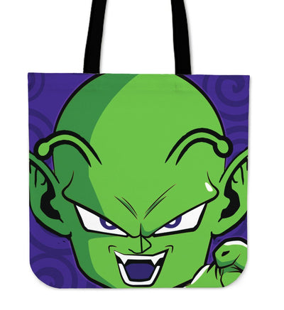 TEEPEAT Picollo Dragon Ball Z Characters Totes