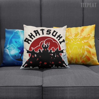 TEEPEAT Pillows Akatsuki Naruto Sasuke Character Pillow Case