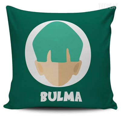 TEEPEAT Pillows Bulma Bulma Trunks Vegeta Pillow Case