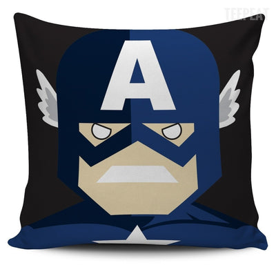 TEEPEAT Pillows Captain America Avengers Character Pillow Case