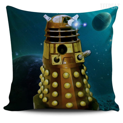 TEEPEAT Pillows Daleks Doctor Who Villians Pillow Case