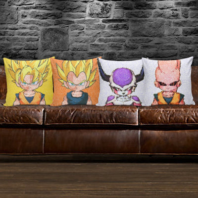 TEEPEAT Pillows DBZ Pastel Style Pillow Case