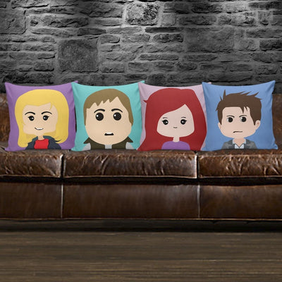 TEEPEAT Pillows Doctor Who Pillow Case