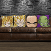TEEPEAT Pillows Dragon Ball Z Characters Pillow Case