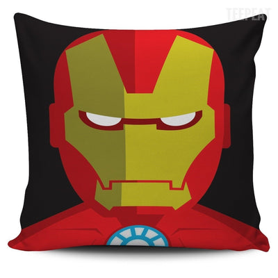 TEEPEAT Pillows Iron Man Avengers Character Pillow Case