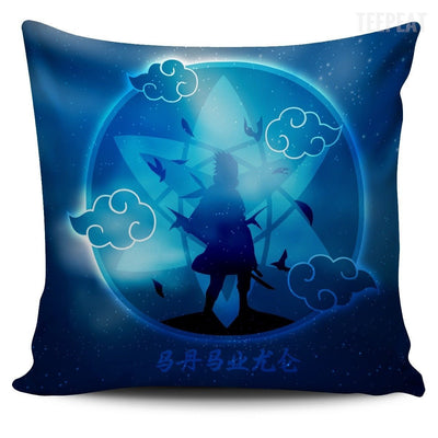 TEEPEAT Pillows Sasuke Akatsuki Naruto Sasuke Character Pillow Case