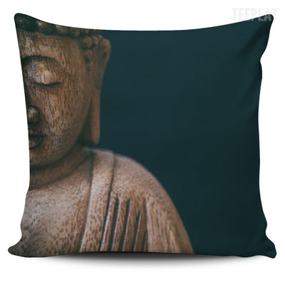 TEEPEAT Pillows Style 3 Buddha Pillow Case