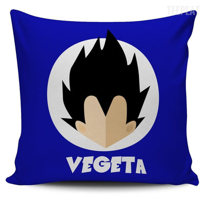 TEEPEAT Pillows Vegeta Bulma Trunks Vegeta Pillow Case