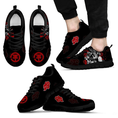 TEEPEAT Shoes Men's Sneakers / Black / US5 (EU38) Akatsuki Members Sneakers