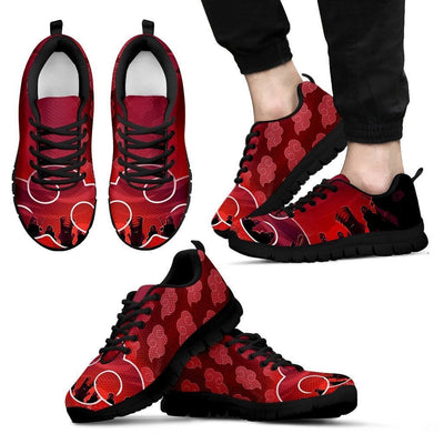 TEEPEAT Shoes Men's Sneakers / Black / US5 (EU38) Akatsuki Team Sneakers