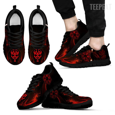 TEEPEAT Shoes Men's Sneakers / Black / US5 (EU38) Darth Maul Sneakers