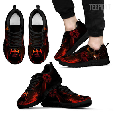 TEEPEAT Shoes Men's Sneakers / Black / US5 (EU38) Darth Vader Sneakers