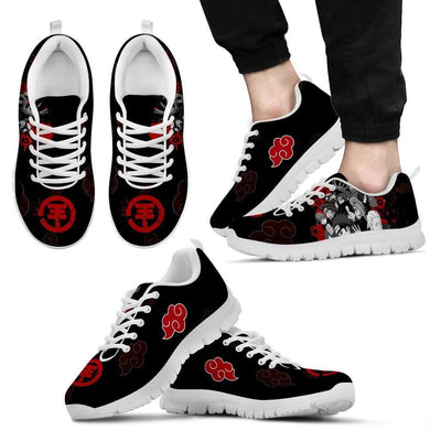 TEEPEAT Shoes Men's Sneakers / White / US5 (EU38) Akatsuki Members Sneakers