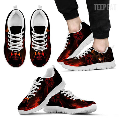 TEEPEAT Shoes Men's Sneakers / White / US5 (EU38) Darth Vader Sneakers
