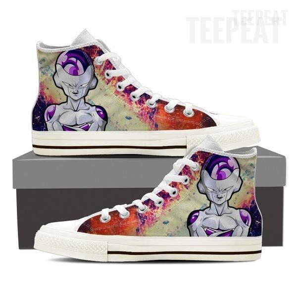 TEEPEAT Shoes Mens High Top   White   US8 (EU40) DBZ Frieza Men High dc555f21c