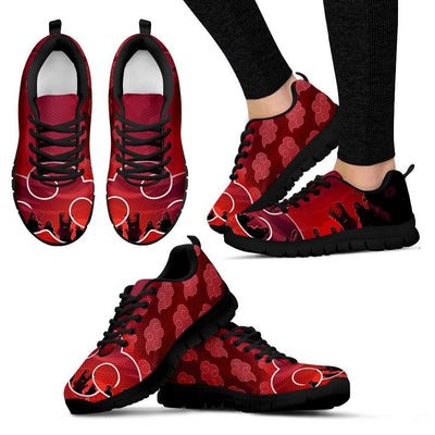 TEEPEAT Shoes Women's Sneakers / Black / US5 (EU35) Akatsuki Team Sneakers