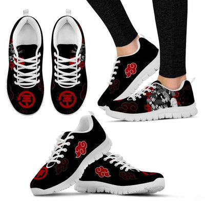 TEEPEAT Shoes Women's Sneakers / White / US5 (EU35) Akatsuki Members Sneakers