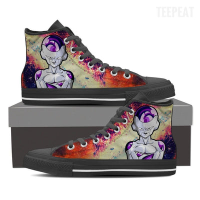 TEEPEAT Shoes Womens High Top / Black / US6 (EU36) DBZ Frieza Women High Top Shoes