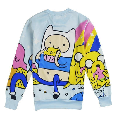 TEEPEAT sweatshirt Adventure Time Sweatshirt