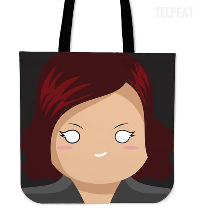 TEEPEAT Totes Black Widow Avengers Character Totes