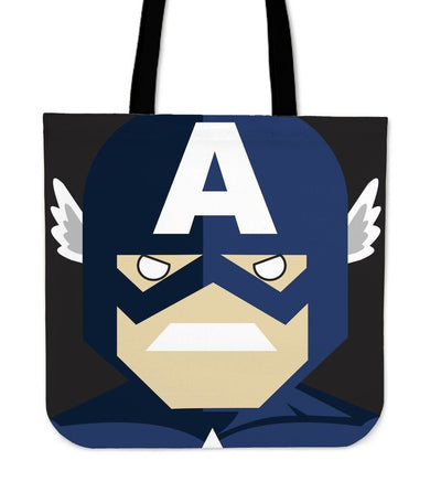 TEEPEAT Totes Captain America Avengers Character Totes