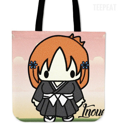 TEEPEAT Totes Inoue Bleach Chibi Character Totes