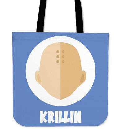 TEEPEAT Totes Krillin Dragon Ball Z Collection Totes