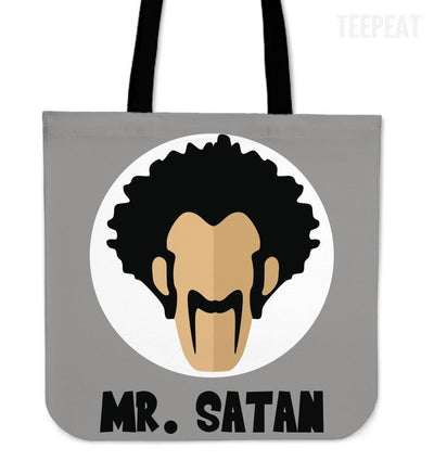 TEEPEAT Totes Mr Satan Dragon Ball Z Collection Totes