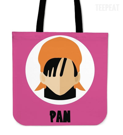 TEEPEAT Totes Pan Dragon Ball Z Collection Totes