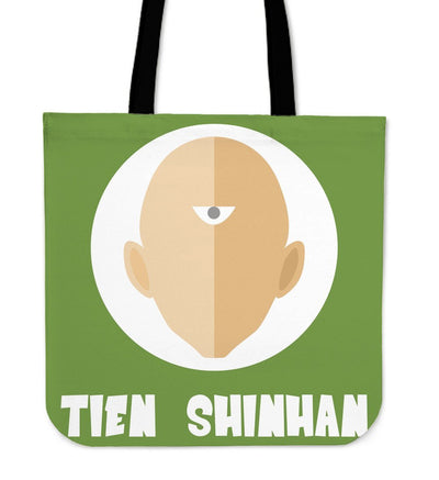 TEEPEAT Totes Tien Shinhan Dragon Ball Z Collection Totes