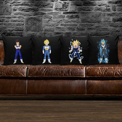 Prince Saiyan Transformations Pillows