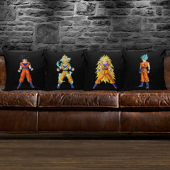 Goku Transformations Pillow