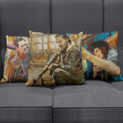 The Walking Dead Character Pillows