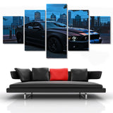 Mustang Painting - 5 Piece Canvas-Canvas-TEEPEAT