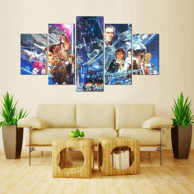 xu zhenchun Canvas A New Hope - 5 Piece Canvas