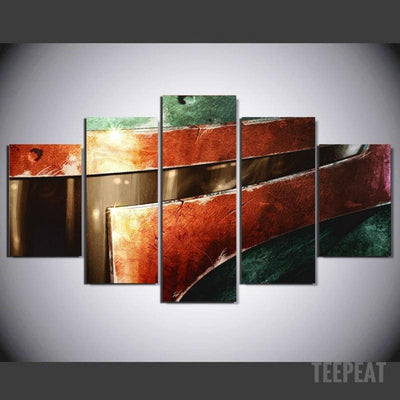 xu zhenchun Canvas Bounty Painting - 5 Piece Canvas