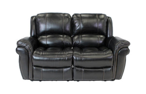 Maddox Power Reclining Loveseat - Chocolate