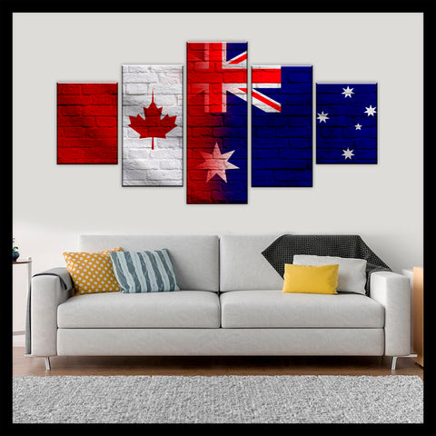 HD PRINTED LIMITED EDITION CANADIAN - AUSTRALIAN (AUSTRALIA) CANVAS