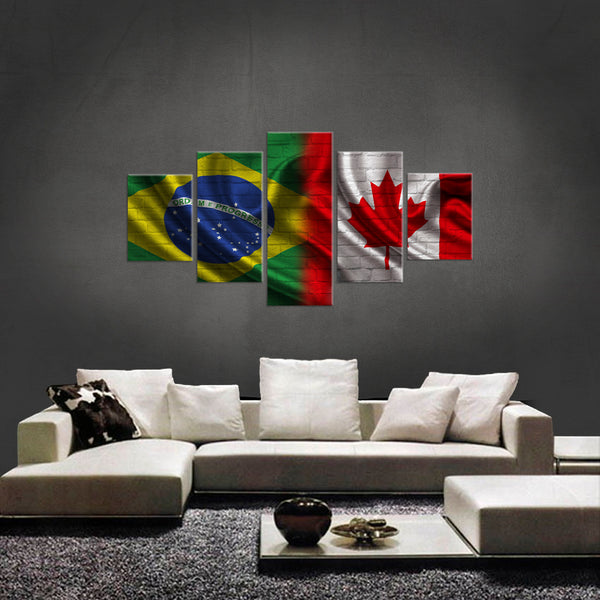HD PRINTED LIMITED EDITION BRAZILIAN - AMERICAN CANVAS