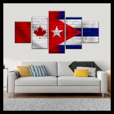 HD PRINTED LIMITED EDITION CANADIAN - CUBAN (CUBA) CANVAS