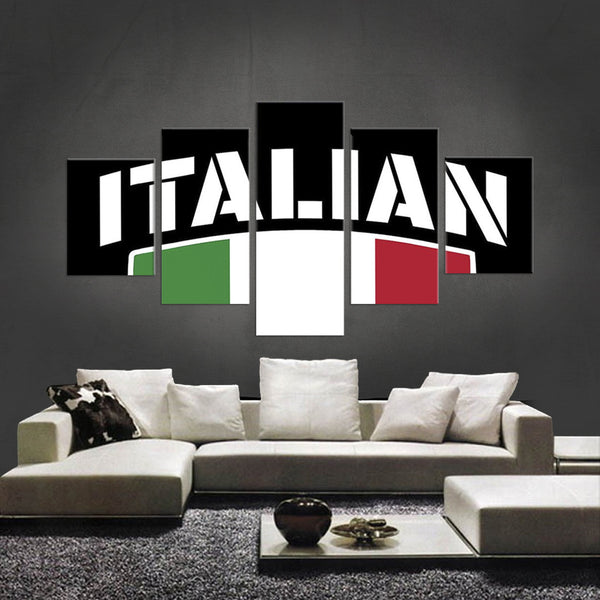 HD PRINTED LIMITED EDITION 5 PIECE NEW ITALIAN CANVAS