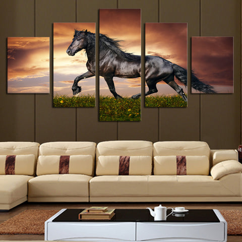 HD PRINTED LIMITED EDITION HORSE CANVERS