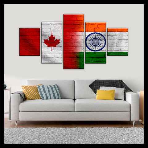 HD PRINTED LIMITED EDITION CANADIAN - INDIAN (INDIA) CANVAS