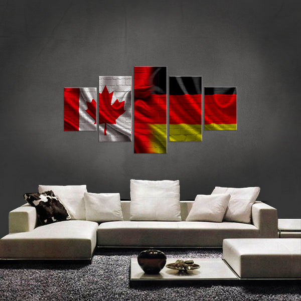 HD PRINTED LIMITED EDITION NEW CANADIAN GERMAN  CANVAS