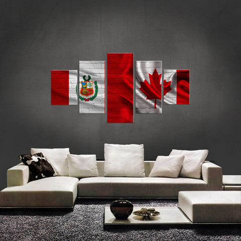 HD PRINTED LIMITED EDITION NEW PERUVIAN CANADIAN CANVAS