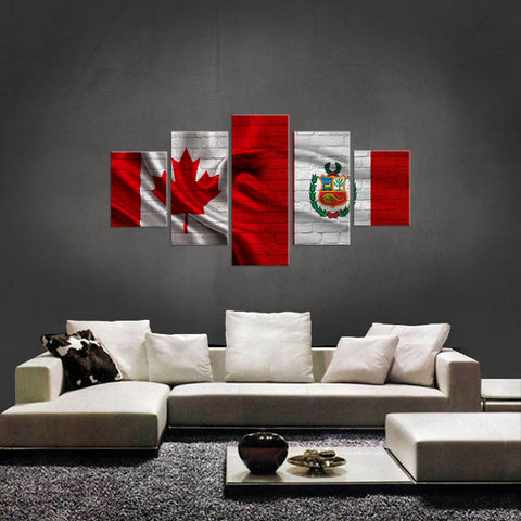 HD PRINTED LIMITED EDITION CANADIAN-PERUVIAN CANVAS