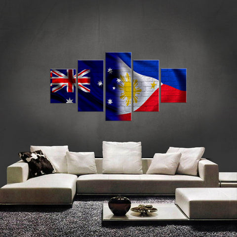 HD PRINTED LIMITED EDITION NEW AUSTRALIAN FILIPINO  CANVAS